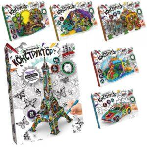 Набір для творчості Danko Toys Розписний конструктор 3DK-01