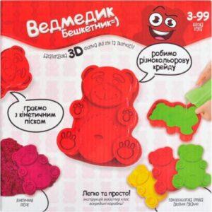 Креативна творчість Danko Toys Ведмедик бешкетник MSH-01
