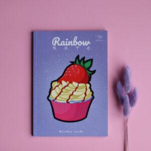 Блокнот Profiplan А5/96 Rainbow Cake