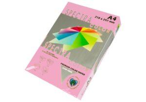 Папір А4 SPECTRA 500арк 80г/м2 IT140 рожевий пастель OP174