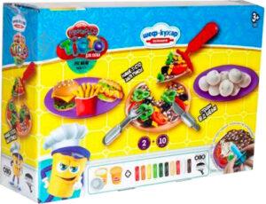 Тісто для ліпки  Danko Toys Master Do Шеф кухар піца СЕРЕДНЯ TMD-10-01U