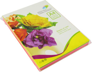 Папір кольоровий Spectra Color А4 75г/м2 NEON 5*10 50арк it82O