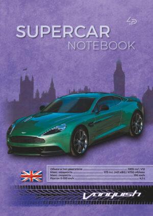 Блокнот Profiplan А5/40 Supercar notebook