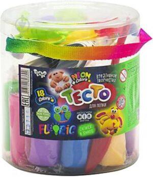Пластилін Danko Toys Master Do Fluoric 18кол в тубусі TMD-FL-18-01