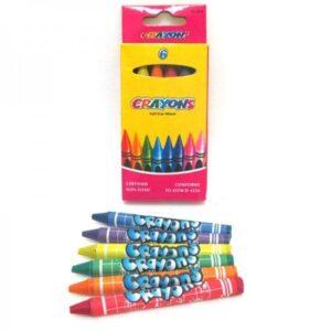 Воскові олівці Crayons 6кол 4236 26-6 8496-6