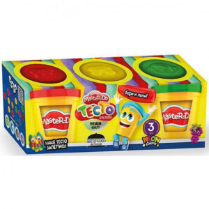 Пластилін Danko Toys Master Do 3кол в банках TMDB-01-04