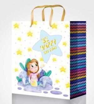 Пакет подарунковий Fresh 26*32*12см 4 дизайни GB-20247,GB-20248,GB-20249,GB-20250 (12шт/уп)