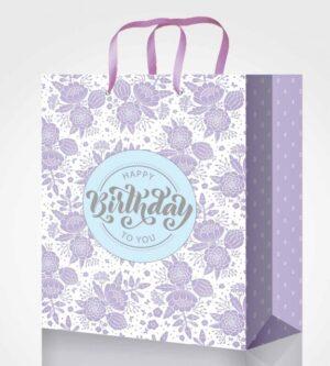 Пакет подарунковий Fresh 18*23*10см 4 дизайни GB-20259,GB-20260,GB-20261,GB-20262 (12шт/уп)