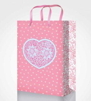 Пакет подарунковий Fresh 25*39*8см 4 дизайни GB-20263,GB-20264,GB-20265,GB-20266 (12шт/уп)