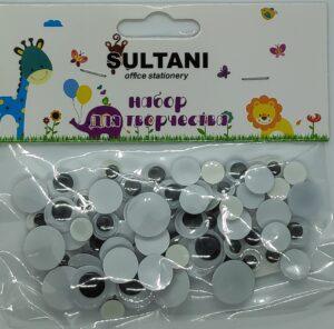 Набір для творчості очі Sultani 4324 асорті розмірів