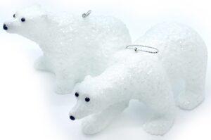 ПІдвіска у вигляді полярного ведмедя KL-1187WH