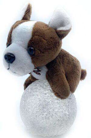 Нічничок іграшка Собака на кулі 490044,490046,490047