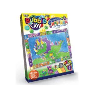 Набір для творчості Bubble clay Danko Toys вітражна картина BBC-02