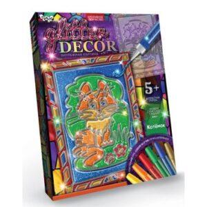 Набір для творчості Glitter decor Danko Toys GD-01-01U