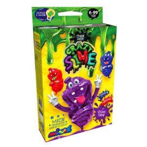 Набір для творчості Danko Toys Вязка маса Crazy Slime SLM-04