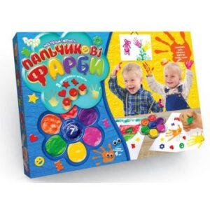 Пальчикові фарби Danko Toys 7кол РК-01-02