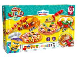 Тісто для ліпки  Danko Toys Master Do Шеф кухар піца ВЕЛИКА TMD-09-01
