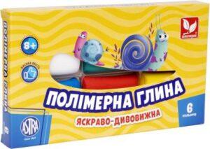 Полімерна глина Школярик 6кол 83911901