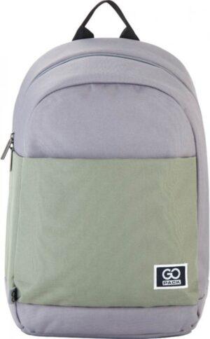 Рюкзак GoPack Сity GO21-173L-3 сірий, хакі