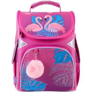 Рюкзак GoPack Education каркасний GO21-5001S-4 Pink flamingoes