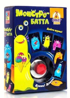 """Гра із дзвоником """"Монстро-батл""""VT8010-04 (укр)¶"""