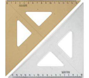 Трикутник Кохінор 45/177 димчастий 744151