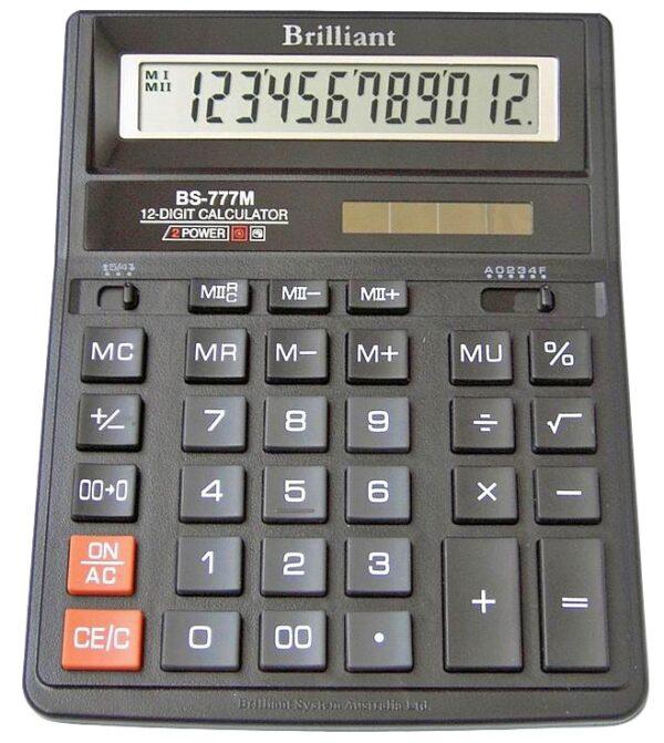 Калькулятор ВS 777M