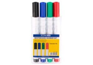 Комплект маркерів  сухостиральних 4шт  11805 Економікс