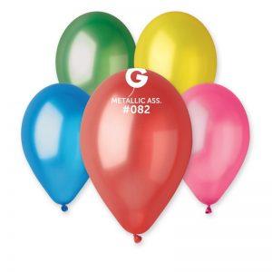"""Кулька надувна Gemar GM90 (100шт/пач) 10"""""""