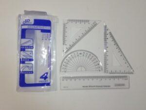 Набір вимірювального приладдя 4предмета 15см XDJ-1920 (3056-3) KF-113