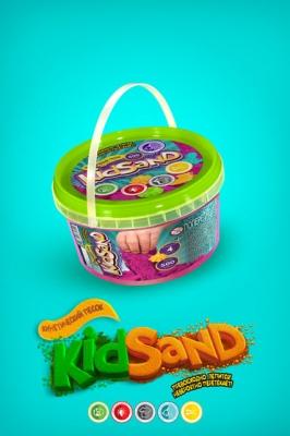 Пісок кінетичний Danko Toys 600г в банці