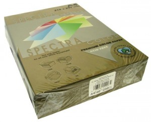Папір А4 SPECTRA 500арк 80г/м2 IT43A темно коричневий