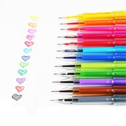 Ручка Winning 2435 BL-920 пірячко мікс (12шт/уп)