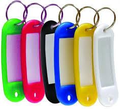 Брелок ідентифікатор для ключів Klerk KL201 (20шт/уп)