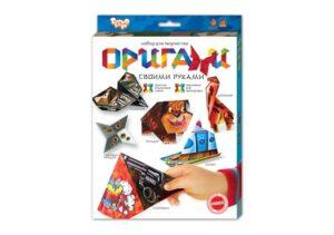 Набір для творчості Орігамі Danko Toys А4 Ор-01-01,02,03,04,05