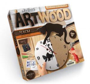 """Набір креативної творчості """"Artwood настінний годинник"""" випилювання LBZ-01-01,02,03,04,05"""