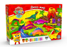 Тісто для ліпки  Danko Toys Master Do Динозаври TMD-10-04U