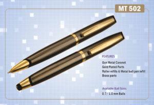 Ручка подарункова Krish металева  кулькова MT-502