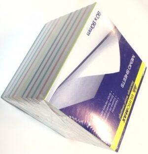 Блок паперу з клейким шаром 100x150мм,100арк.кліт.D3330-02