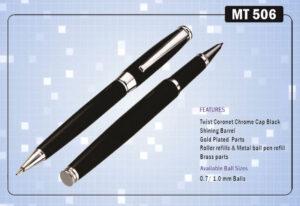 Ручка подарункова Krish металева  кулькова MT-506