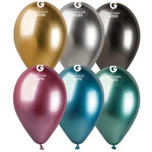 """Кулька надувна Gemar GB120 (50шт/пач) ХРОМ 13"""""""