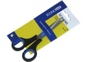 Ножниці Economix 40401 з гумовими вставками 14см