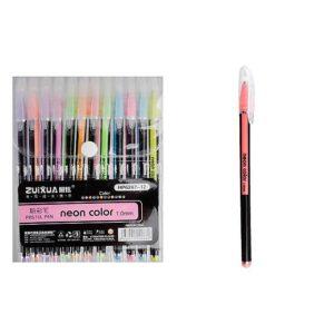 Набір гелевих ручок 6207-12 12кол  пастель