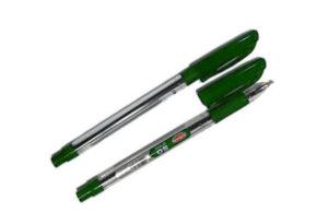 Ручка Krish SG  масляна зелена (50шт/уп)