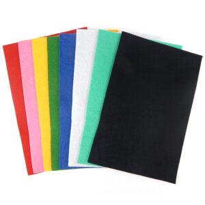 Набір кольорового фетру А4  10118  10120  8шт/уп