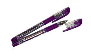 Ручка Krish wing масляна фіолетова (12шт/уп)