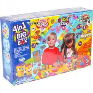 Набір для творчості Danko Toys 4в1 BIG CREATIVE BCRB-01-01U