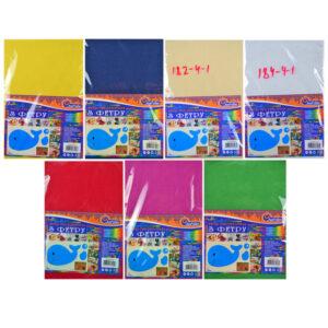Набір кольорового фетру Josef Otten 200HQ 200г/м2 (10шт/уп)