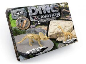Набір Danko Toys Dino  Excavation прведення розкопок Покосенко DEX-01