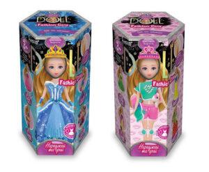 Набір для творчості Danko Toys Princess Doll малий CLPD-02